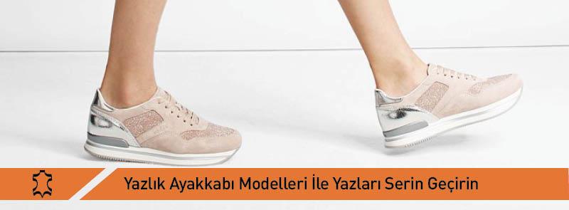 Yazlık Ayakkabı Modelleri İle Yazı Serin Geçirin