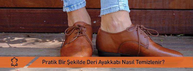 Pratik Deri Ayakkabı Temizliği