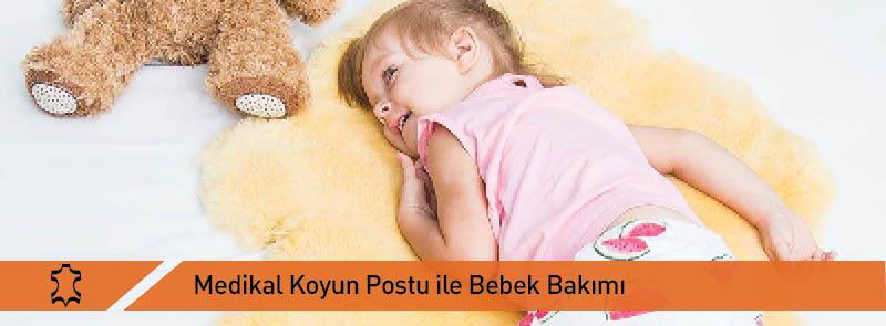 Medikal Koyun Postu İle Bebek Bakımı