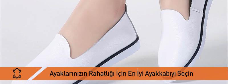 Ayaklarınızın Rahatlığı İçin En İyi Ayakkabıyı Seçin