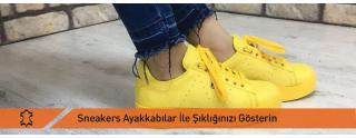 Sneakers Ayakkabılar İle Şıklığınızı Gösterin