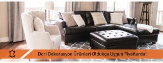 Uygun Fiyatlı Deri Dekorasyon Ürünleri