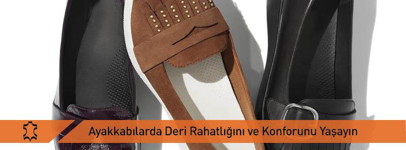 Ayakkabılarda Deri Rahatlığını ve Konforunu Yaşayın