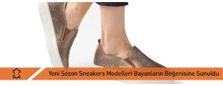 Yeni Sezon Sneakers Modelleri Bayanların Beğenisine Sunuldu
