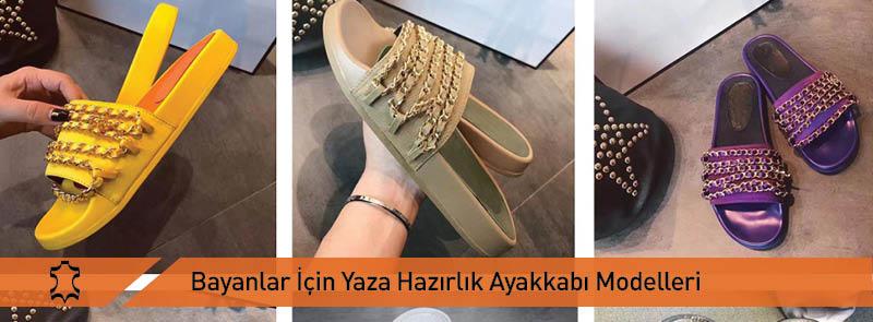 Bayanlar İçin Yaza Hazırlık Ayakkabı Modelleri