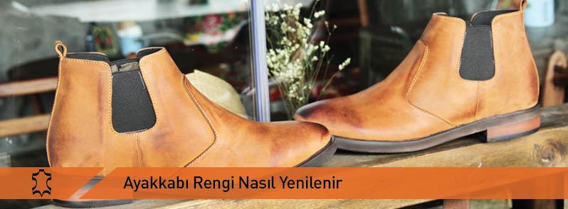 Ayakkabi Rengi Yenileme Yontemleri