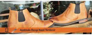 Ayakkabı Rengi Nasıl Yenilenir