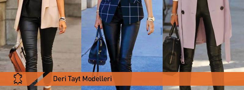Deri Tayt Modelleri