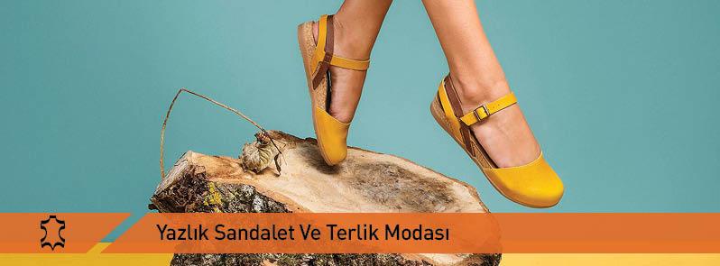 Yazlık Sandalet Ve Terlik Modası