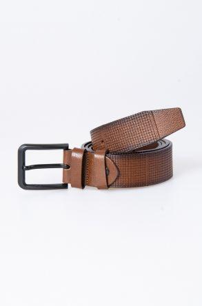 Pegia Original Leather Men's Belt 19KMR04 Brown