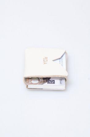 Pegia Hakiki Deri Kartlık Cüzdan 19CZ101 Krem