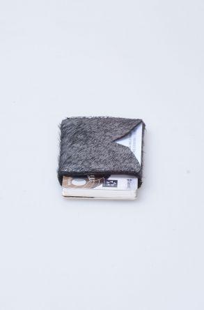 Pegia Hakiki Cavalino Deri Kartlık Cüzdan 19CZ111 Gümüş