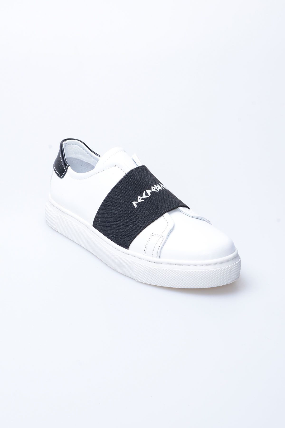 Pegia Recreation Hakiki Deri Bayan Sneaker 19REC101 Siyah