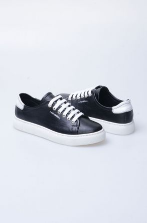 Pegia Recreation Hakiki Deri Bayan Sneaker 19REC201 Черный