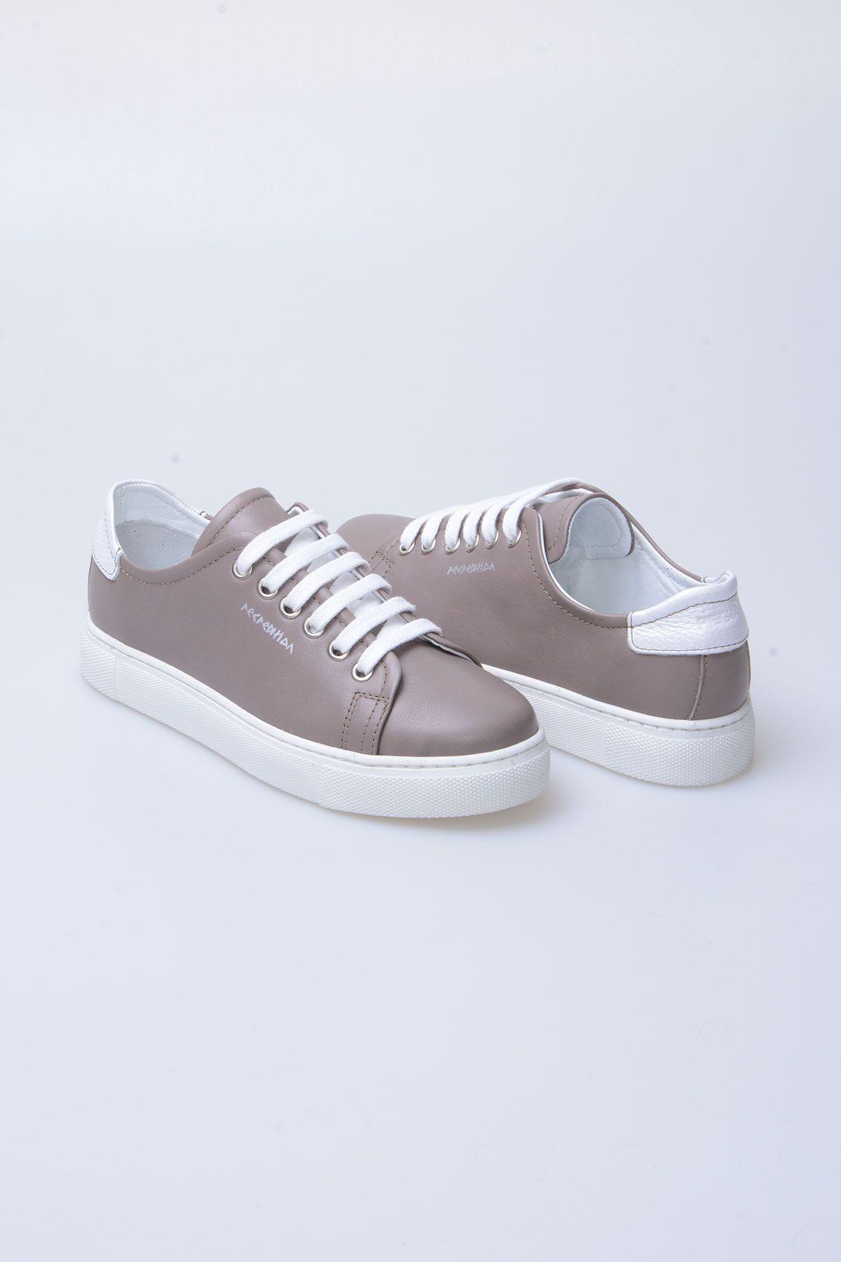 Pegia Recreation Hakiki Deri Bayan Sneaker 19REC201 Vizon