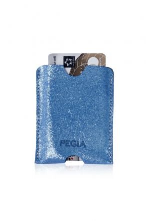 Pegia Original Leather Cardholder Wallet 19CZ208 Blue
