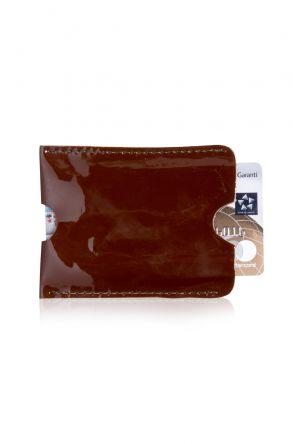 Pegia Hakiki Rugan Deri Kartlık Cüzdan 19CZ214 Kahve