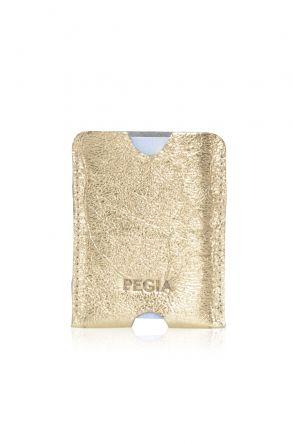 Pegia Hakiki Deri Kartlık Cüzdan 19CZ218 Altın