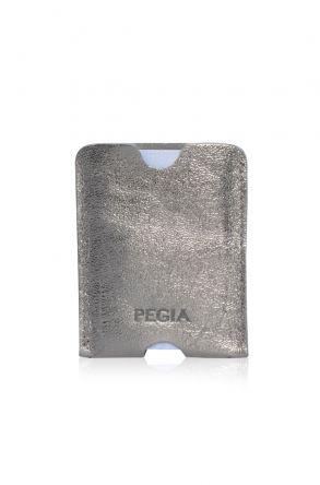 Pegia Hakiki Deri Kartlık Cüzdan 19CZ218 Gümüş