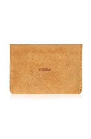 Pegia Original Leather Suede Wallet Big Size  19CZ312 Yellow