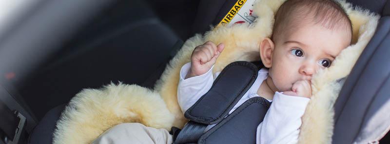 Yaz Kış Kullanımlı Bebek Arabası Minderi