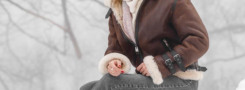 İndirimli Hakiki Bayan Deri Ceket