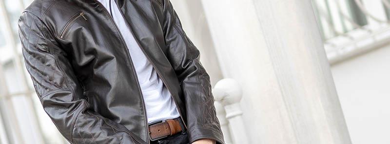 Kaliteli Ve Şık Erkek Deri Ceket