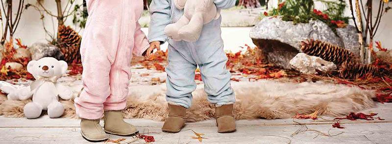 Bebekler İçin En Zarif Kürklü Patik Modelleri