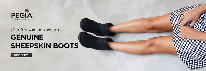 women-shearling-boots